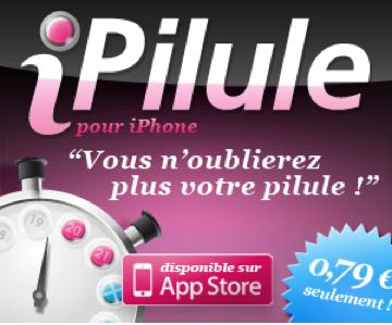 application ipilule pour iphone