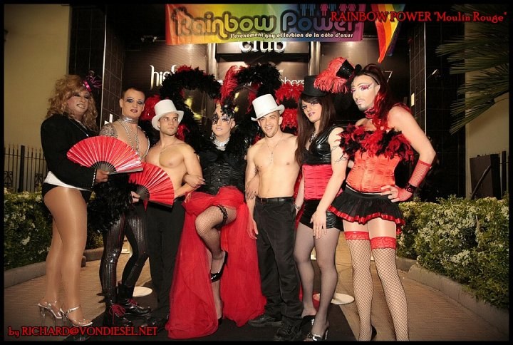 Rainbow Power Moulin Rouge