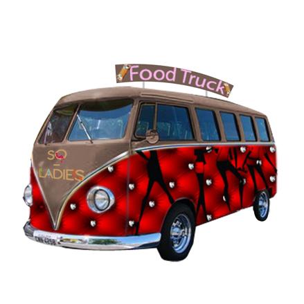 van food truck So Ladies