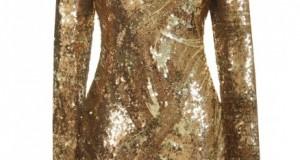 Robe doré - Glamourous