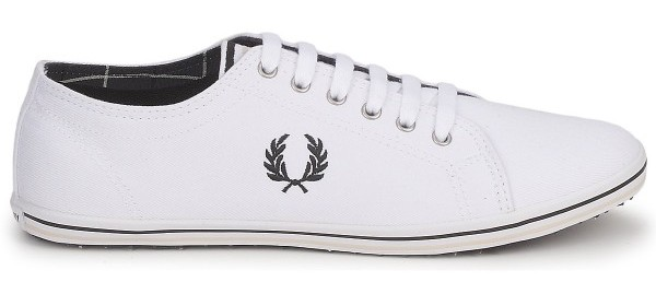 chaussures fred perry blanche