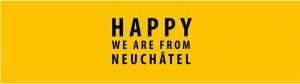 Happy de Pharell Williams par Neuchâtel !