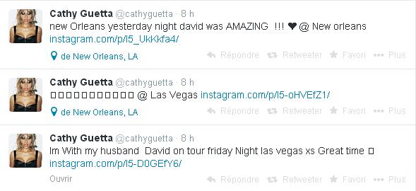 Cathy Guetta cathyguetta sur Twitter