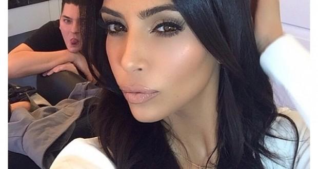 Auto-portrait de Kim Kardashian