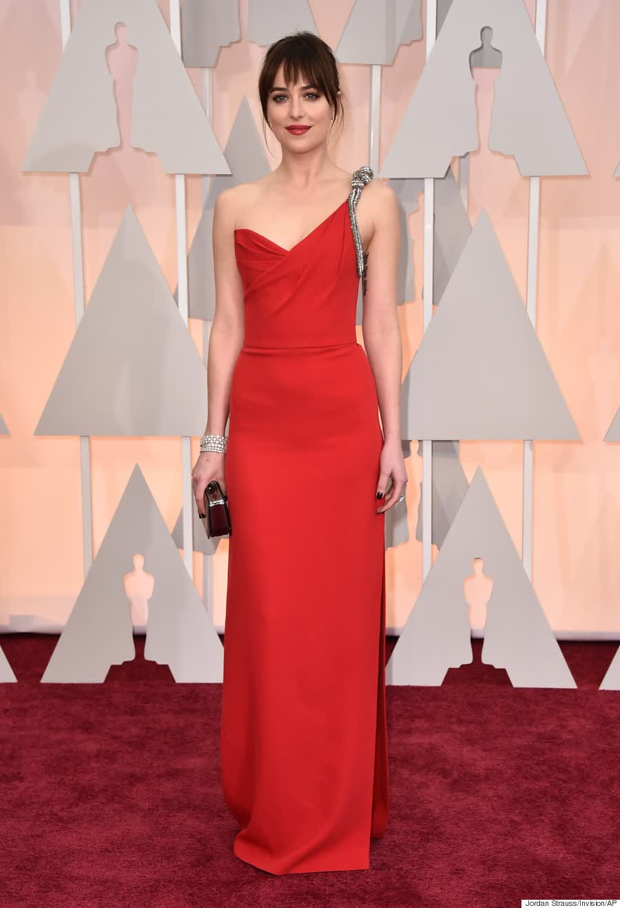 Dakota Johnson aux Oscars 2015