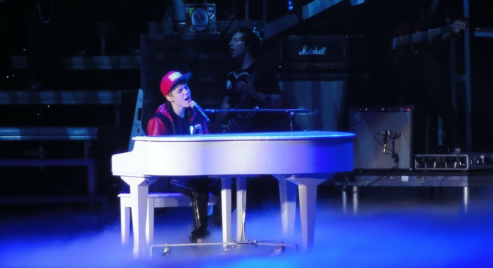 Justin Bieber, chanteur et icone de la jeune génération