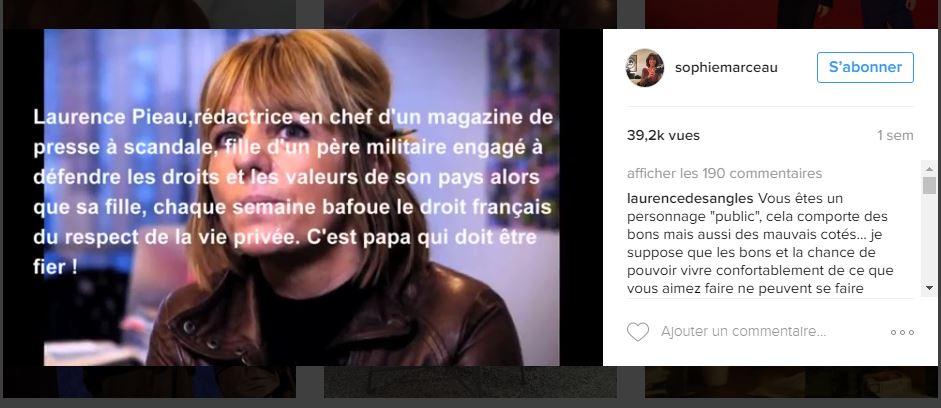 Sophie Marceau contre la presse people