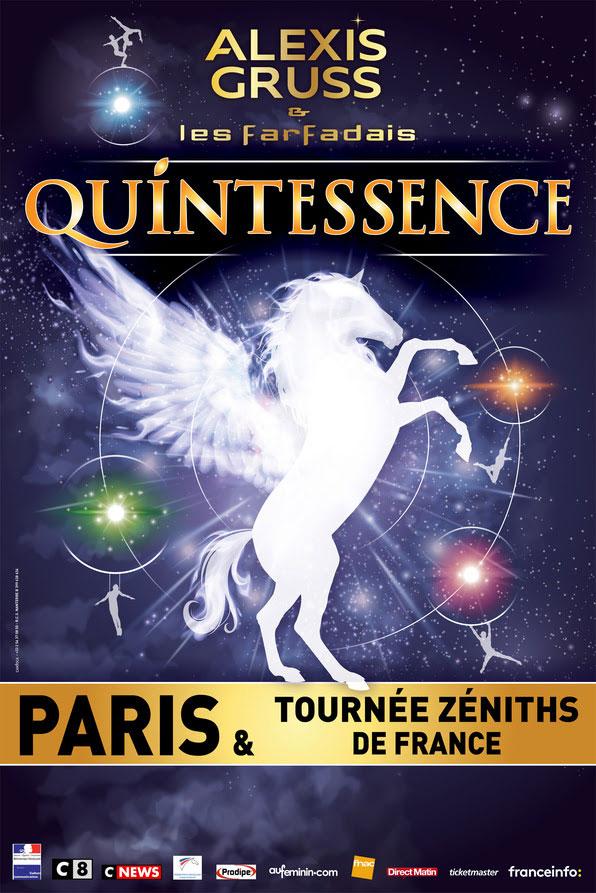 Tournée dans toute la France du cirque Gruss et de la Compagnie des Farfadais