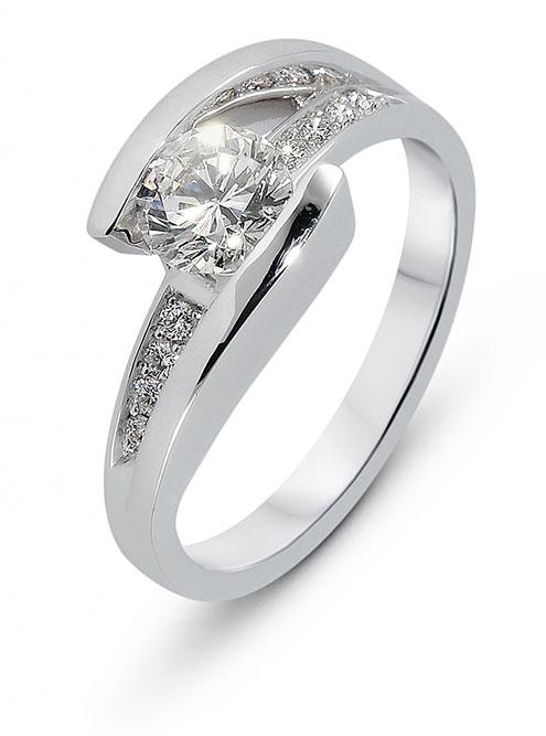 Bague de mariage ou fiançailles